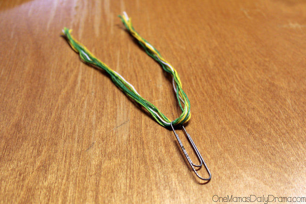 tassel paperclip bookmarks step 3