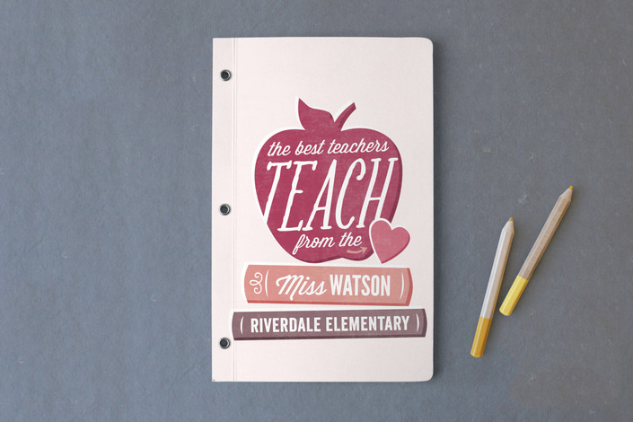 Minted.com teacher notebook