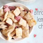 Strawberry lemonade chex