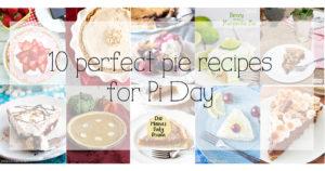 10 perfect pie recipe for Pi Day 3.14