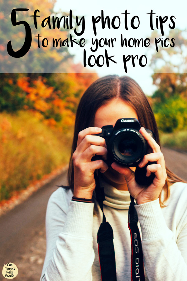 5 family photo tips to make your home pics look pro