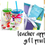 8 teacher appreciation gift printables