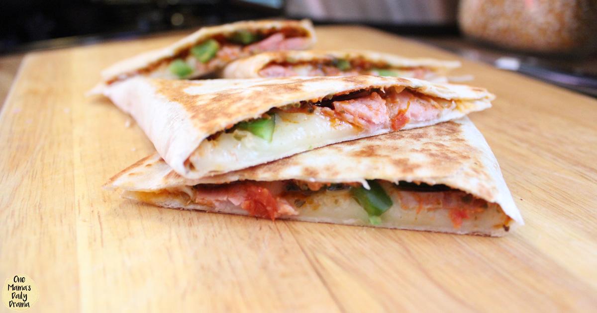 Italian quesadillas with ham and provolone | One Mama's Daily Drama