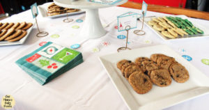 Merry and bright cookie exchange party with printables