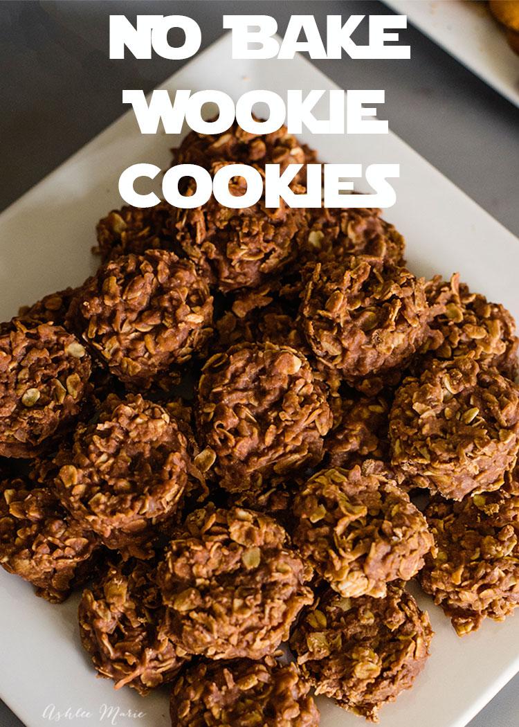 No bake Wookiee cookies from Ashlee Marie