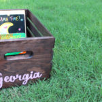 DiY book box baby shower gift idea