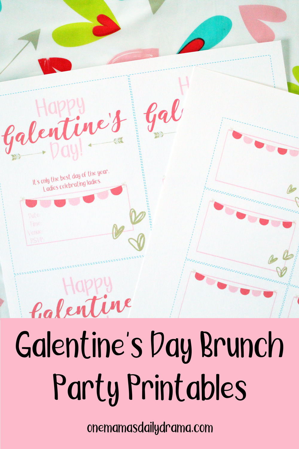 How To Host A Galentine S Day Brunch With Printables