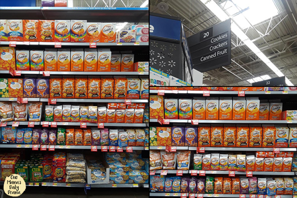Shop Walmart for Goldfish crackers on Rollback