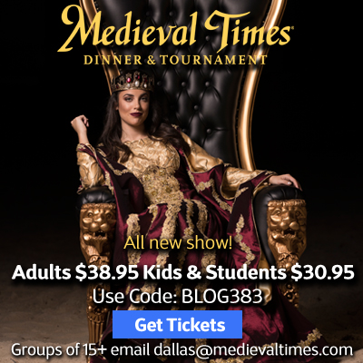 Get a Medieval Times discount for spring break!