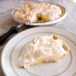 No-bake banana pudding pie recipe from One Mama's Daily Drama