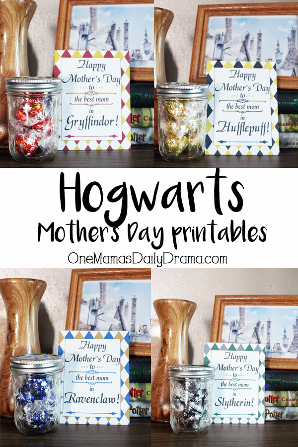 Hogwarts Mother's Day printables