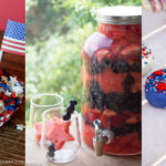Red, white & blue Memorial Day party food recipes