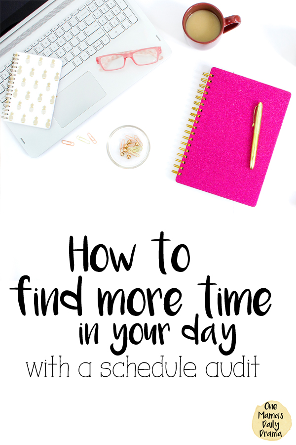 How to find more time in your day with a schedule audit