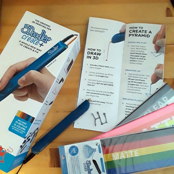 3Doodler Create+ 3d printing pen