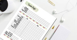 Summer is peak time for planning a vacation, but there's never really a bad time to take a break and get out of town. Get organized for your next trip with this printable vacation planner.