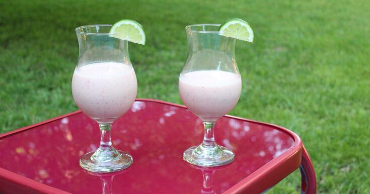 Strawberry Margarita Shake