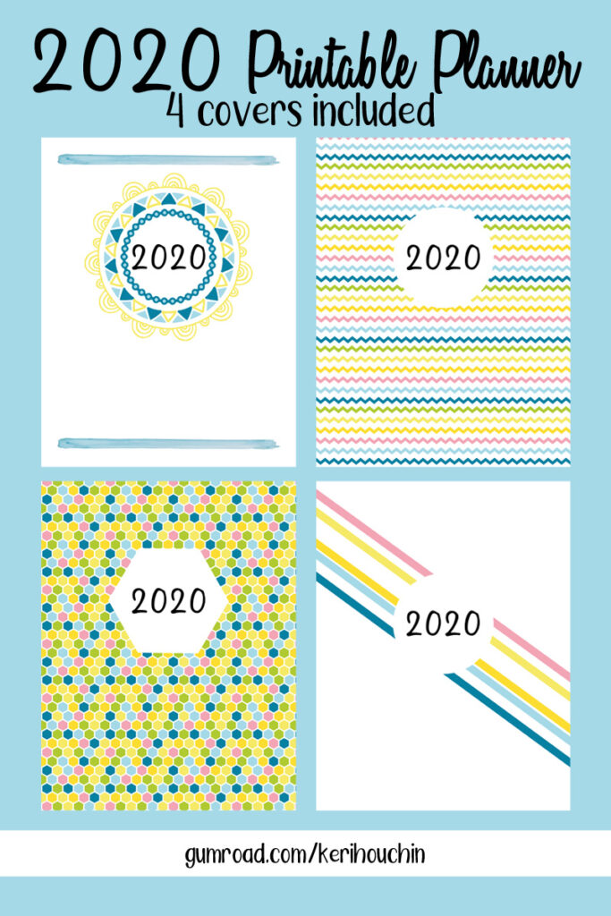 2020 Printable Planner | Daily, Weekly, Monthly, and Yearly